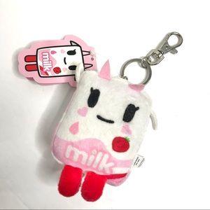 Tokidoki Zipper Plush Pull Key Chain Bag Bling